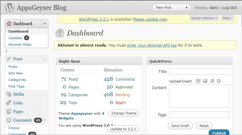 wordpress plugin android