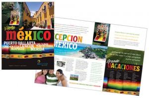 Travel app brochure