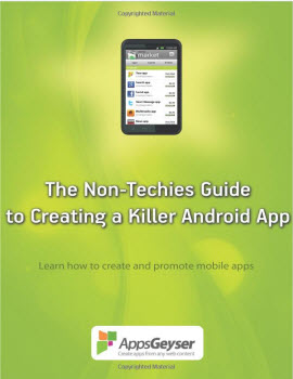 the non techies guide to creating a killer android app book cover