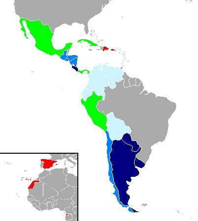 Latin America for app sales