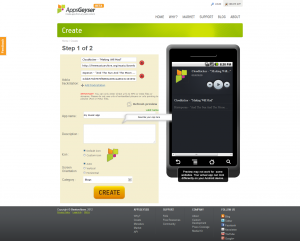 android app making tool MP3