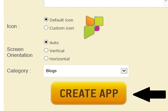 how to create android apps with html
