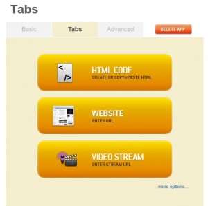 free android app tabs
