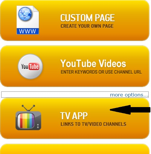 Updated Template - TV Stream Android App Template