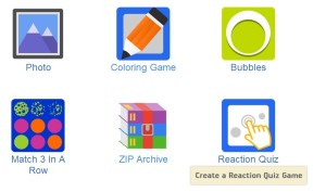 create reaction quiz Android app game templates