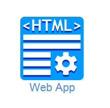 make an android app templates html web app