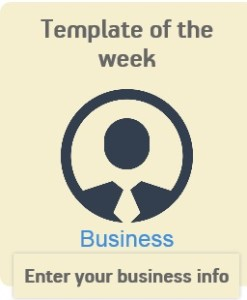 business Android app template