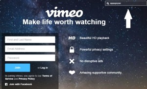 Vimeo app making template