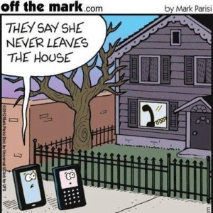 Mobile phones humor