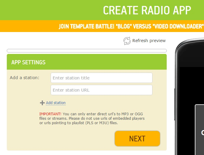 Radio Template Updated - Create a Radio Station Android App Today