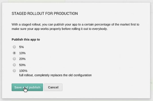 staged rollouts beta testing