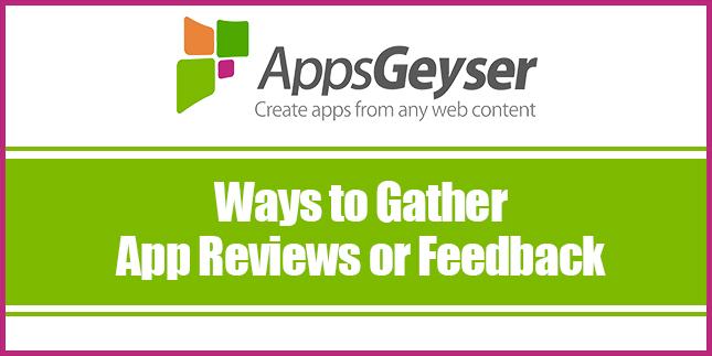 Gather App Reviews