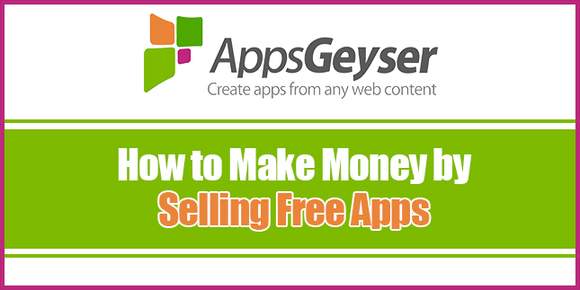 how to make money by selling free apps