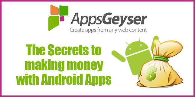 the secrets to making money with android