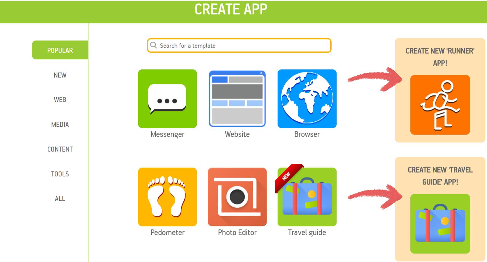 Create Free App
