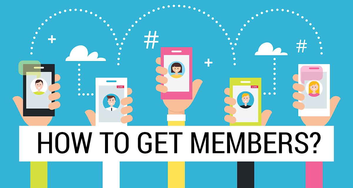 Get members for your Telegram Channel