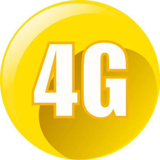 4G browser app icon