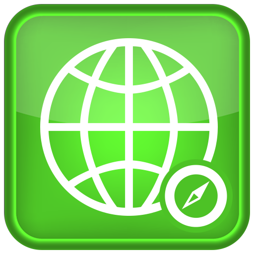 Green icon for browser app
