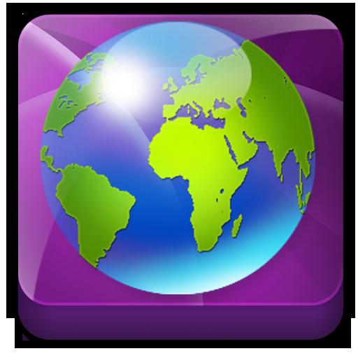 International browser app icon