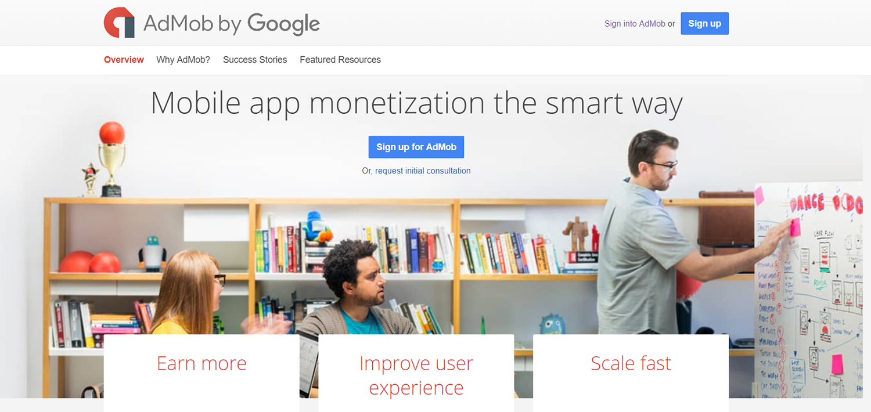 admob app monetization