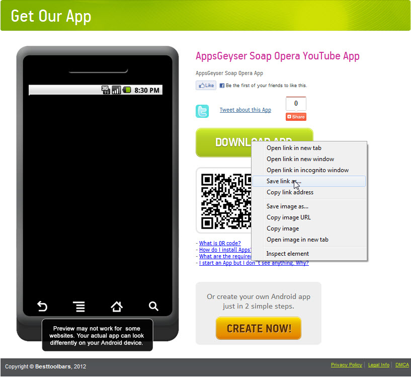 How to get your APK file