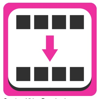 Click on create an app video downloader icon