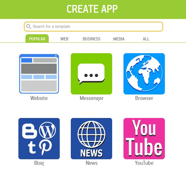 App Templates - Create App