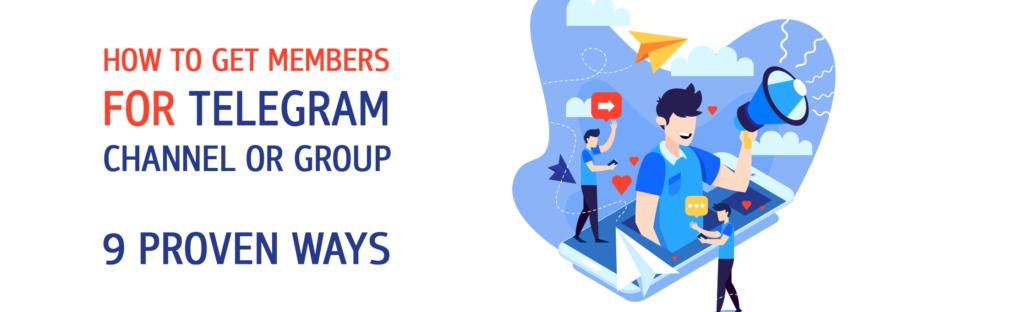 how to get telegram members