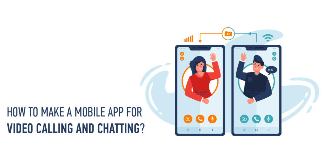 how to make video chat call app for android