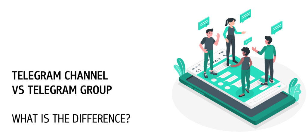 difference between telegram channel and telegram group
