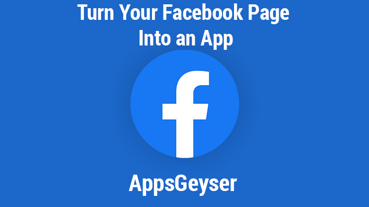 Turn your Facebook Page into an App