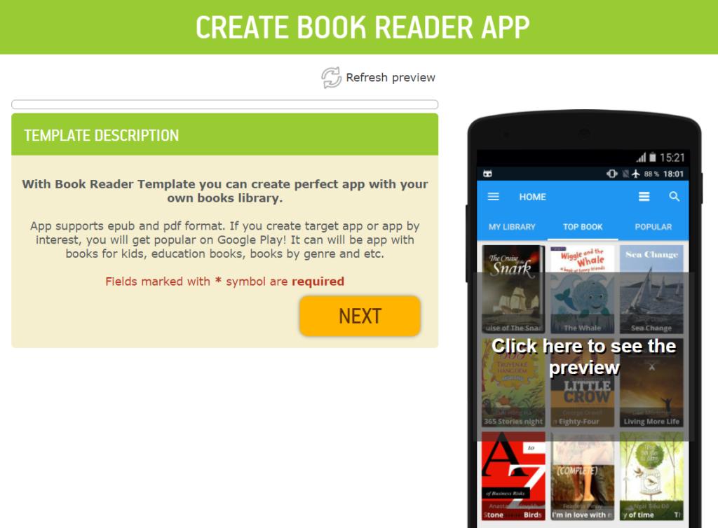 open ebook template