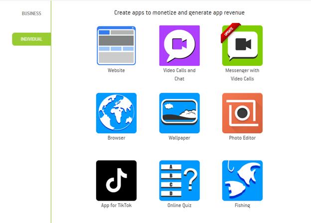 50 Free App Templates
