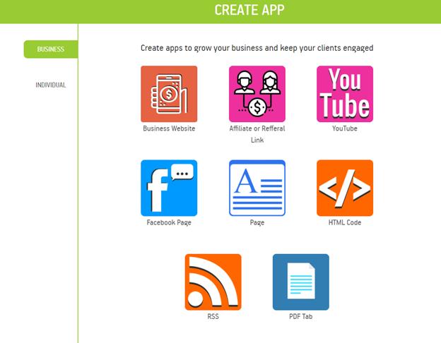 business app templates