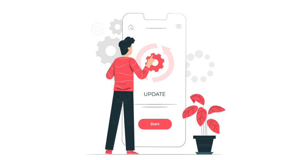Update Android App