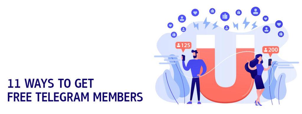 Get Free Telegram Members